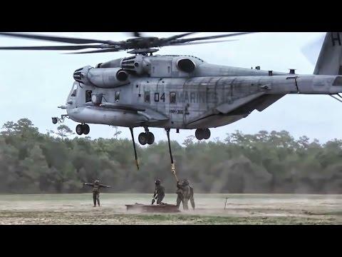 CH-53E External Lift Training • MCAS Cherry Point