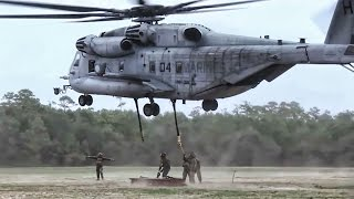 CH-53E External Lift Training • MCAS Cherry Point