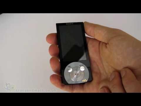 Sony NWZ-A845 Walkman unboxing video