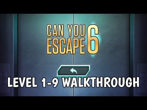 Can You Escape 6 Level 1-9 Walkthrough
