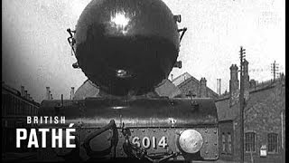 Streamlined Train For Gwr News In A Nutshell (1935)
