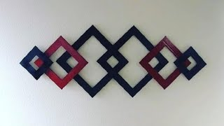 Diy: Super Easy Upcycled Paper Wall Art Decor {madebyfate} #235
