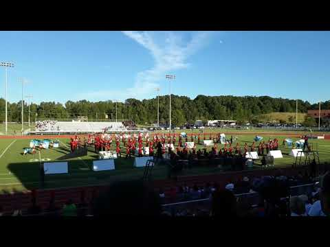 2017 Briarcrest Competition-- Brighton Marching Band