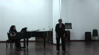 """Lupita Guillén - Aria de la locura de Ofelia """"Hamlet"""" / Thomas Ambroise"""