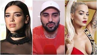 Jo vetem mode/ Ledri Vula flet për herë të parë për Dua Lipën dhe Rita Orën (10.03.2018)