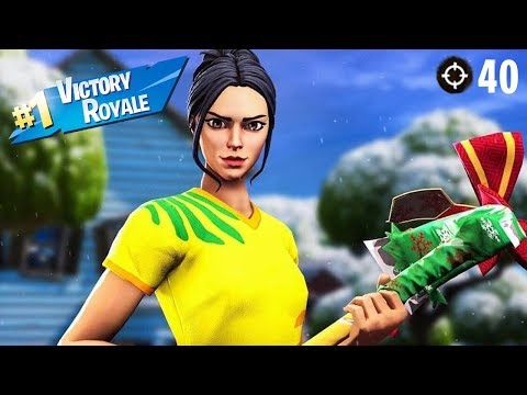 40+ KILLS IN A SINGLE GAME! - KILL RECORD (FORTNITE SEASON 9 TUTORIAL) thumbnail