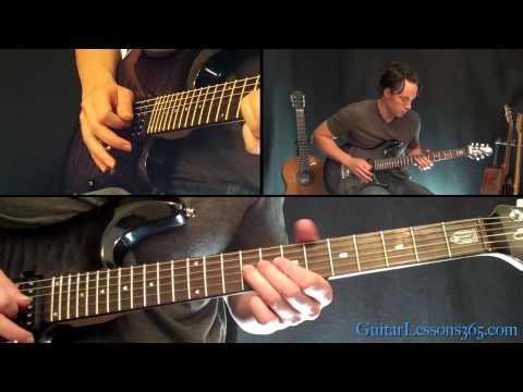 Top Gun Anthem Guitar Solo Lesson - Famous Solos