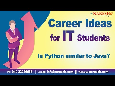 Is Python similar to Java? | Career ideas in IT | Career Guidance