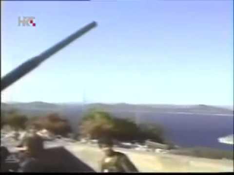 Croatian War : Battle of Šibenik 16.9.1991