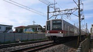 [まもなく引退] 東武20000系伊勢崎線(スカイツリーライン) 姫宮(TS-29)~北春日部(TS-28)