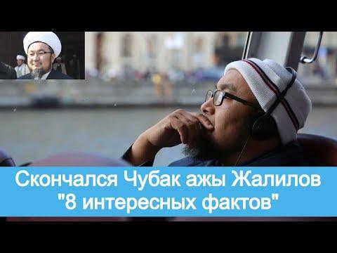 Скончался Чубак ажы Жалилов. \