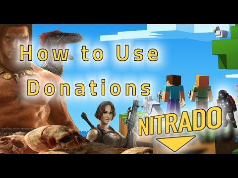Support Tutorials: 1  How to use Donations with Nitrado