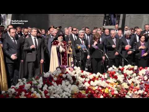 Armenians Remember Victims Of Ottoman-era Mass Killings
