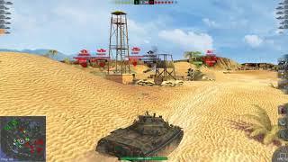 World of Tanks Blitz Game Play (STB-1) v4.0.0