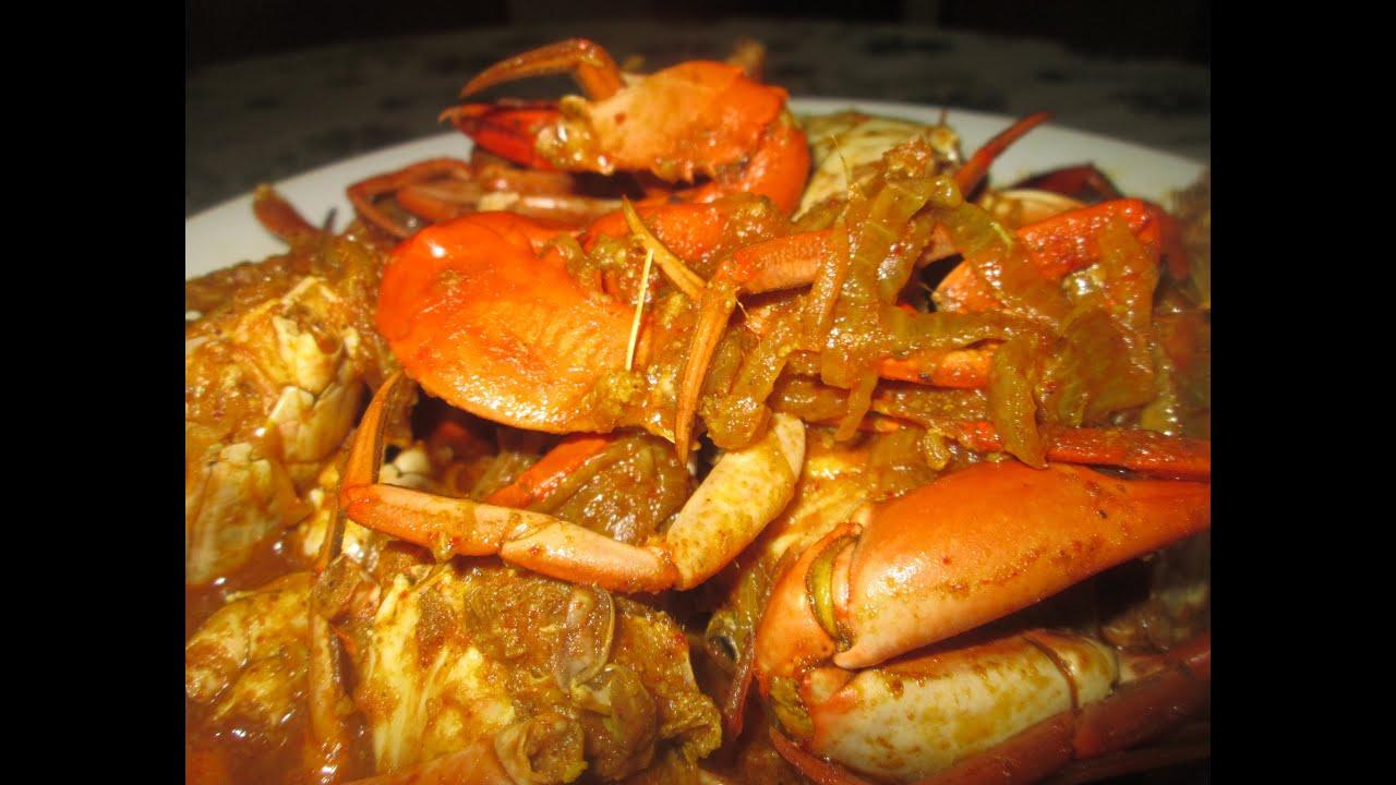 Kakrar jholindianbengali crab curry recipe youtube forumfinder Image collections