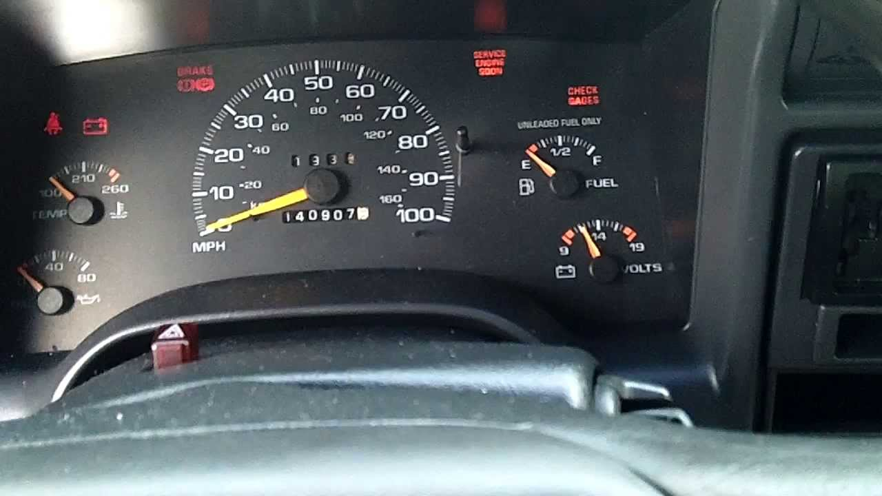 small resolution of 1997 chevy blazer fuel gauge issues again