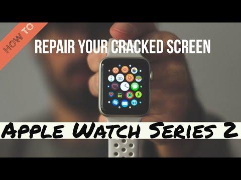 How to Repair Cracked Screen on Apple Watch Series 2 (38 Millimeter)