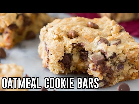 How to Make Oatmeal Cookie Bars