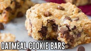How to Make Oatmeal Cookie Bars