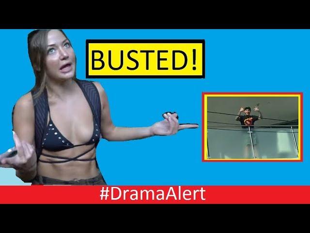 jake-paul-s-fake-girlfriend-busted-dramaalert-faze-banks-attacked-deji-lambo-spray-painted