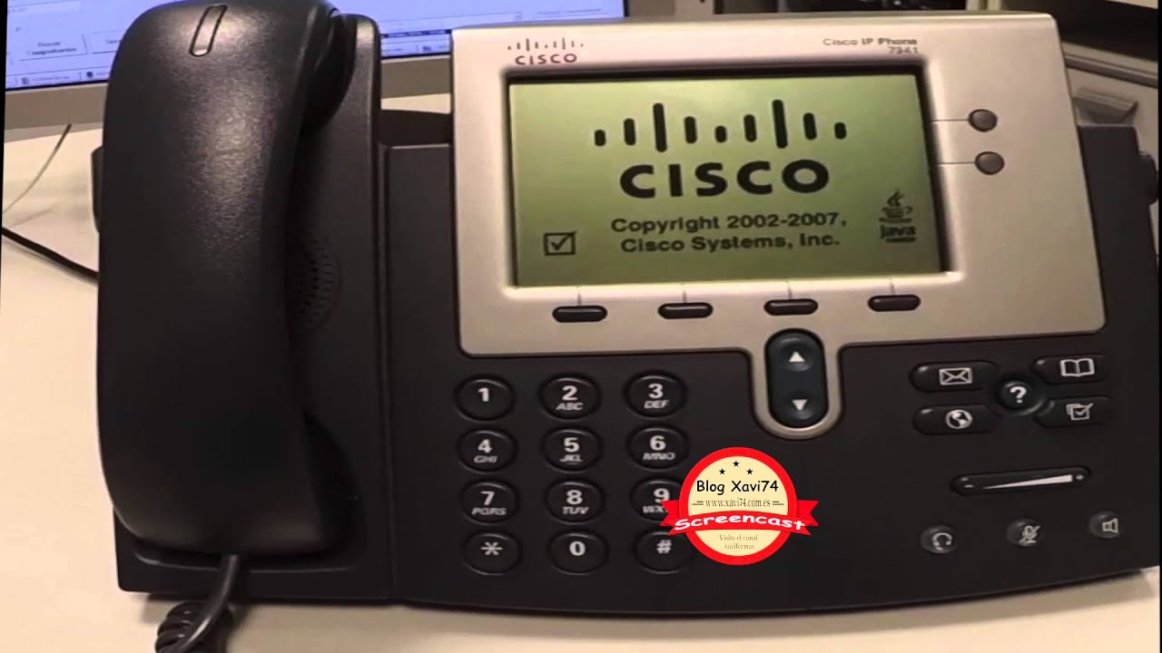 Cisco 7941 pasar a SIP