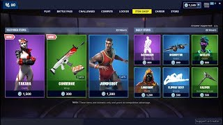 *NEW*Takara Skin & Triple Threat Stays! Fortnite Item Shop May 31, 2019