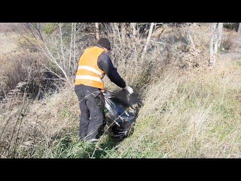 Работа специалистов отдела госнадзора в сфере охраны окружающей среды