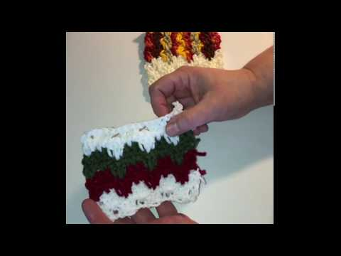 How to Crochet the Granny Spike Stitch