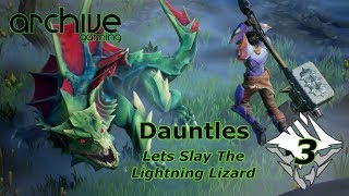 Dauntless - Slaying the lightning lizard