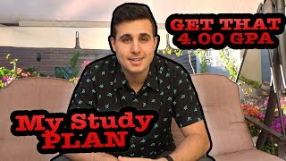 My STUDY PLAN That Helped Me Get My 4.0 GPA | WATCH THIS BEFORE YOUR NEXT SEMESTER | Darius Med