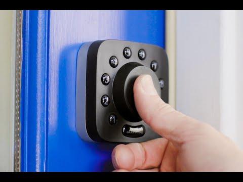 This smart deadbolt gives you true keyless & phoneless entry