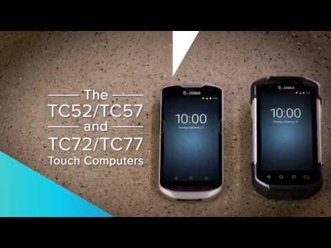 Zebra TC52/TC57/TC72/TC77 Touch Computer