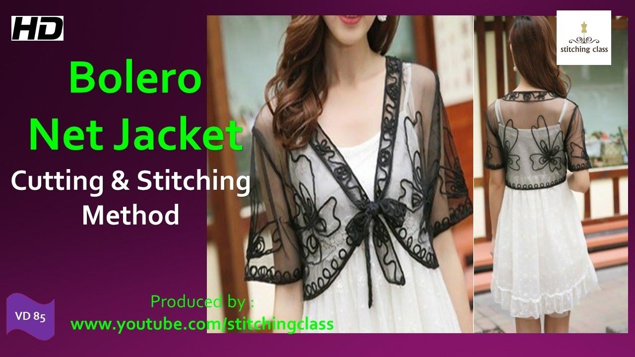 803151055d4efc How to Make Bolero Net Jacket
