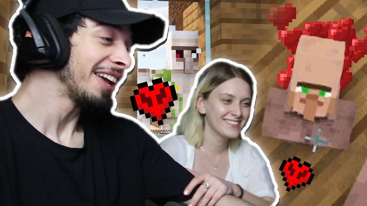 პატარა სოფლელის დაბადება | Minecraft Hardcore #11