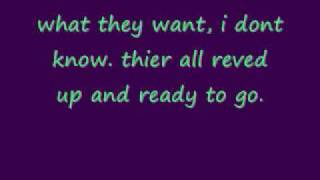 Gambar cover the blitzkrieg bop by the ramones ( lyrics in video)