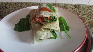 Burritos de Jamón con Vegetales (Ham Burrito)