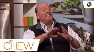 Mario Batalis Seafood and Cheese Tip - The Chew