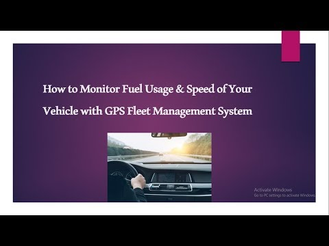 GPS Fleet Management System: How To Monitor Fuel Usage & Speed of Your Vehicle