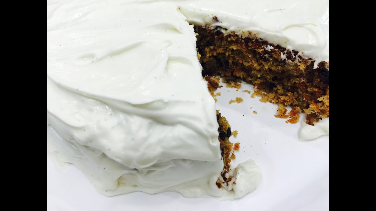 Delicious Homemade Carrot Cake in Gujarati with Raihana\'s Cuisines ...