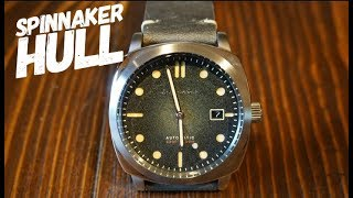 Spinnaker Hull Automatic Watch Review - A Great Panerai Homage