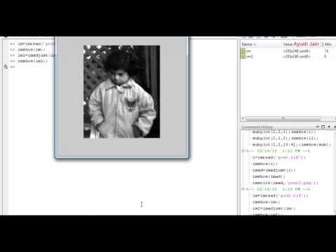 Matlab Addition and Subtraction of Images : Part 1