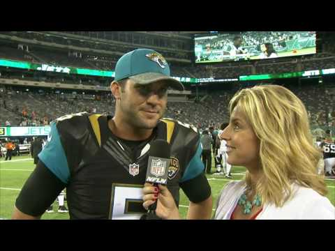 8/11/16 - Kim Jones interviews Jaguars QB Blake Bortles
