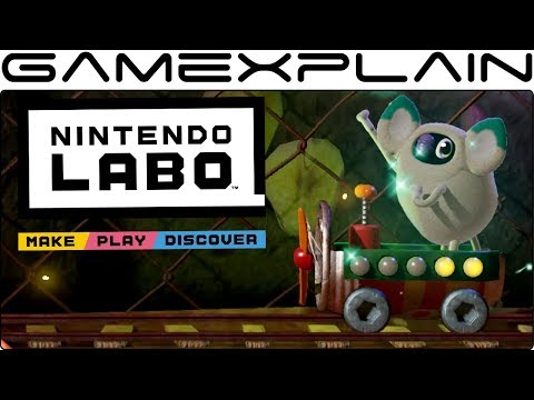 Tormenting a Poor Creature in Nintendo Labo's Toy-Con House Gameplay (+ Minigames Galore!)