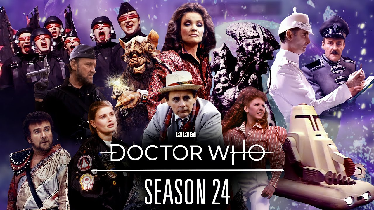 Season 24 Trailer | Doctor Who | Starring Sylvester McCoy, Bonnie Langford and Sophie Aldred