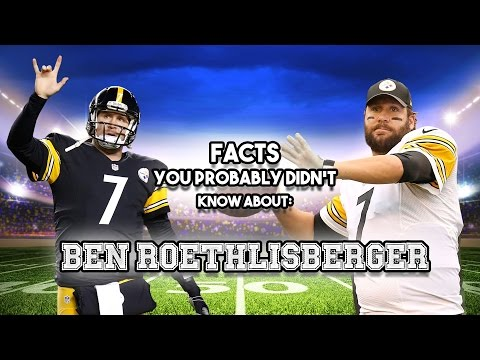 Ben Roethlisberger: 20 Facts You Probably Didn