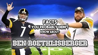 20 AWESOME Facts You Probably Didn't Know About Ben Roethlisberger