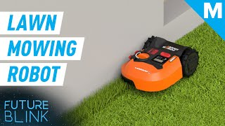 This AI Lawn Mower Is Like A Roomba For Your Yard | Future Blink