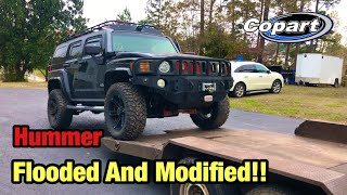 I Bought The Cheapest Totaled Flooded Hummer From Salvage Auction And Its Modified