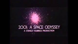 Stanley Kubrick's 2001: A Space Odyssey Trailer 1968