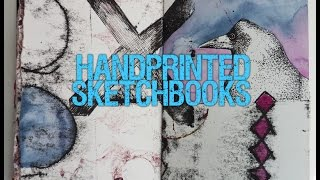 Handprinted Sketchbook